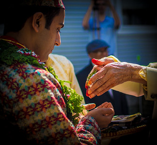 Hindu wedding in Vermont
