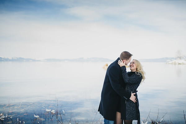 Engagement at Lake Tahoe | Lenkaland Photography