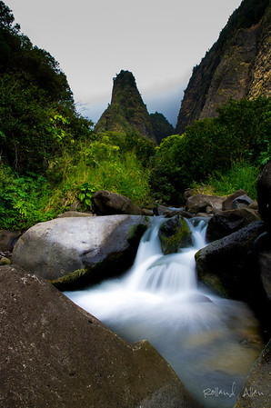 """Morning at Iao Valley 2"", Maui, HI"