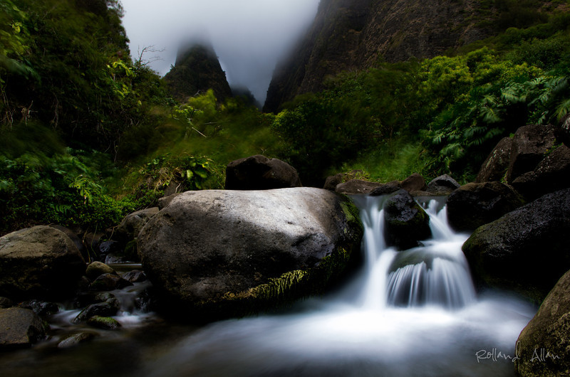 """Morning at Iao Valley"", Maui, HI"
