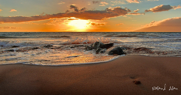"""A Beautiful Kihei Sunset, Maui, HI"