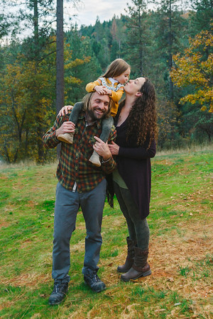 Family in Fall | Lenkaland Photography