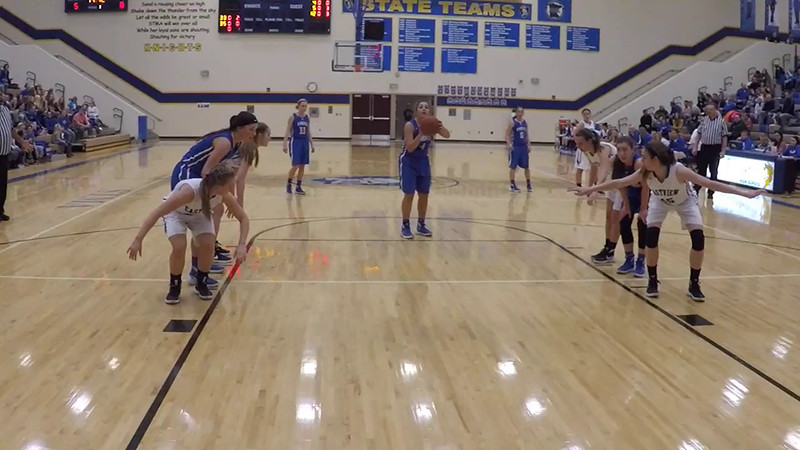 STMA Girls vs Eastview 1/16/16