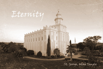 st george temple Sepia