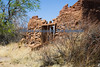 Adobe ruin petrified forest