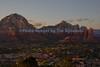 Sedona overlook sunset 2