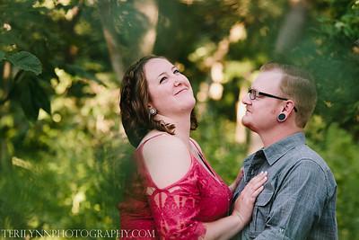 Courtney and Zach
