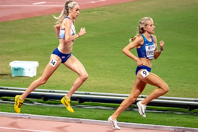 Elish McColgan of GBR competes in the Women's 5000 metres final during day nine of 17th IAAF World Athletics Championships Doha 2019 at Khalifa International Stadium on October 05, 2019 in Doha, Qatar. Photo by Tom Kirkwood/SportDXB