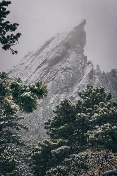 Beauty of Boulder in Winter