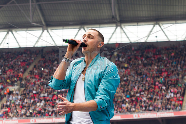 Charlie Brown at Capital Radio's Summertime Ball, photographer Bronac McNeill_9Jun2013