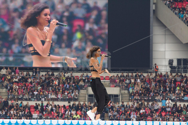 AlunaGeorge at Capital Radio's Summertime Ball, photographer Bronac McNeill_9Jun2013