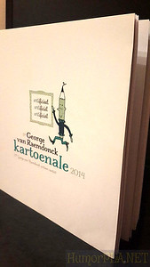 10.01.2015 - Catalogue Of The 13th International George van Raemdonck  Kartoenale Was Published