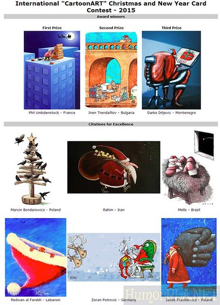 9.02.2015 - Winners Christmas 2015 (CartoonArt.eu)