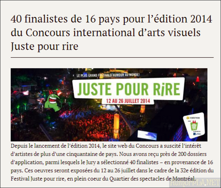 9.07.2014 - Finalists Montreal 2014