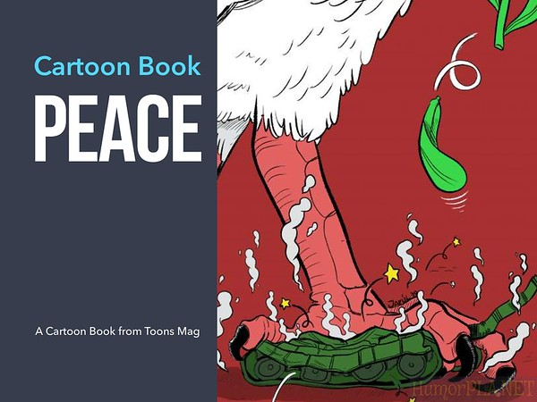 New Book - Peace, by Toons Mag