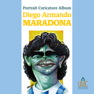 Cartoon eAlbum Maradona