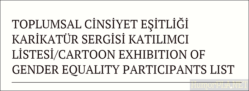 8.04.2015 - Participants Gender Equality, Ankara 2015