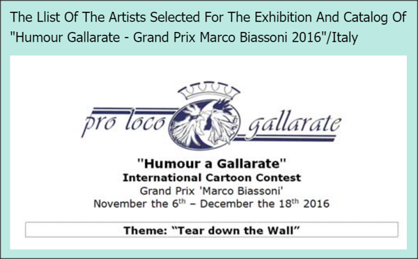 3.11.2016 - Participants Gallarate 2016