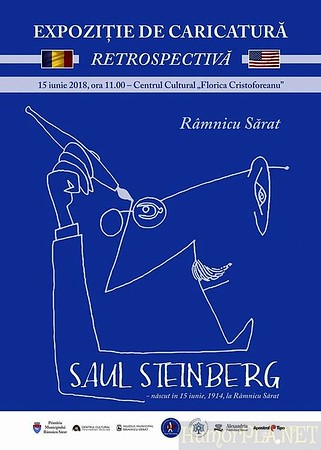 16.06.2018: New Exposition in Romania - Saul Steinberg