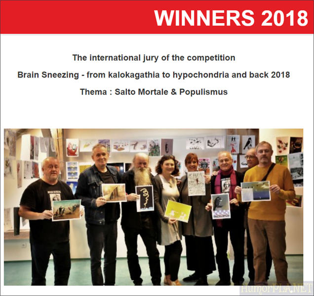 29.11.2018: The Jury and the Winners - Presov 2018