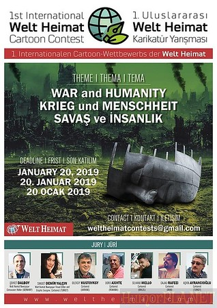 Deadline 20 January 2019 / War & Humanity / Email