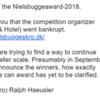 30.03.2018: (Bad) News from Niels Bugge Award