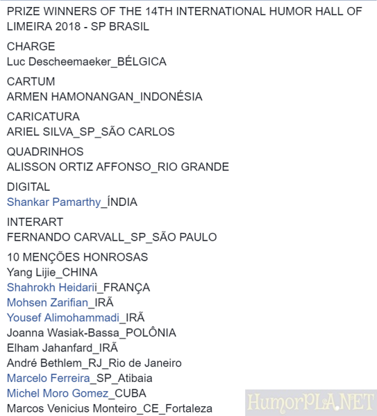 14.12.2018: The Winners - Limeira 2018