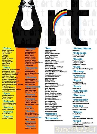 List Of Participants of International Cartoon Festival