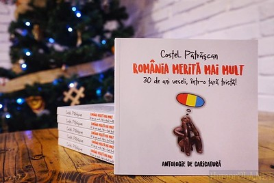 New Cartoon Book - Costel Patrascan, Romania