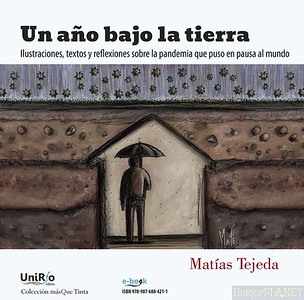 New Cartoon Book - Matias Tejeda, Argentina