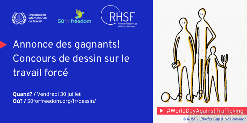 The Winners - artoon Competition on Forced Labour in France