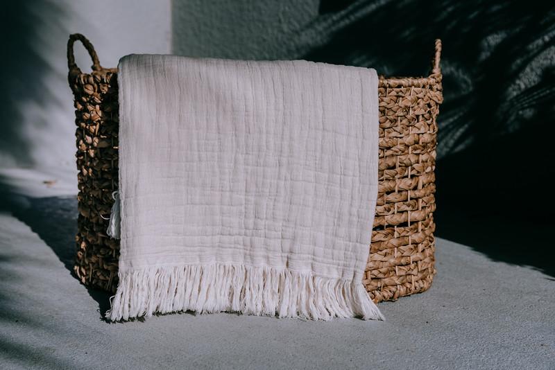 Ivory/off white blanket