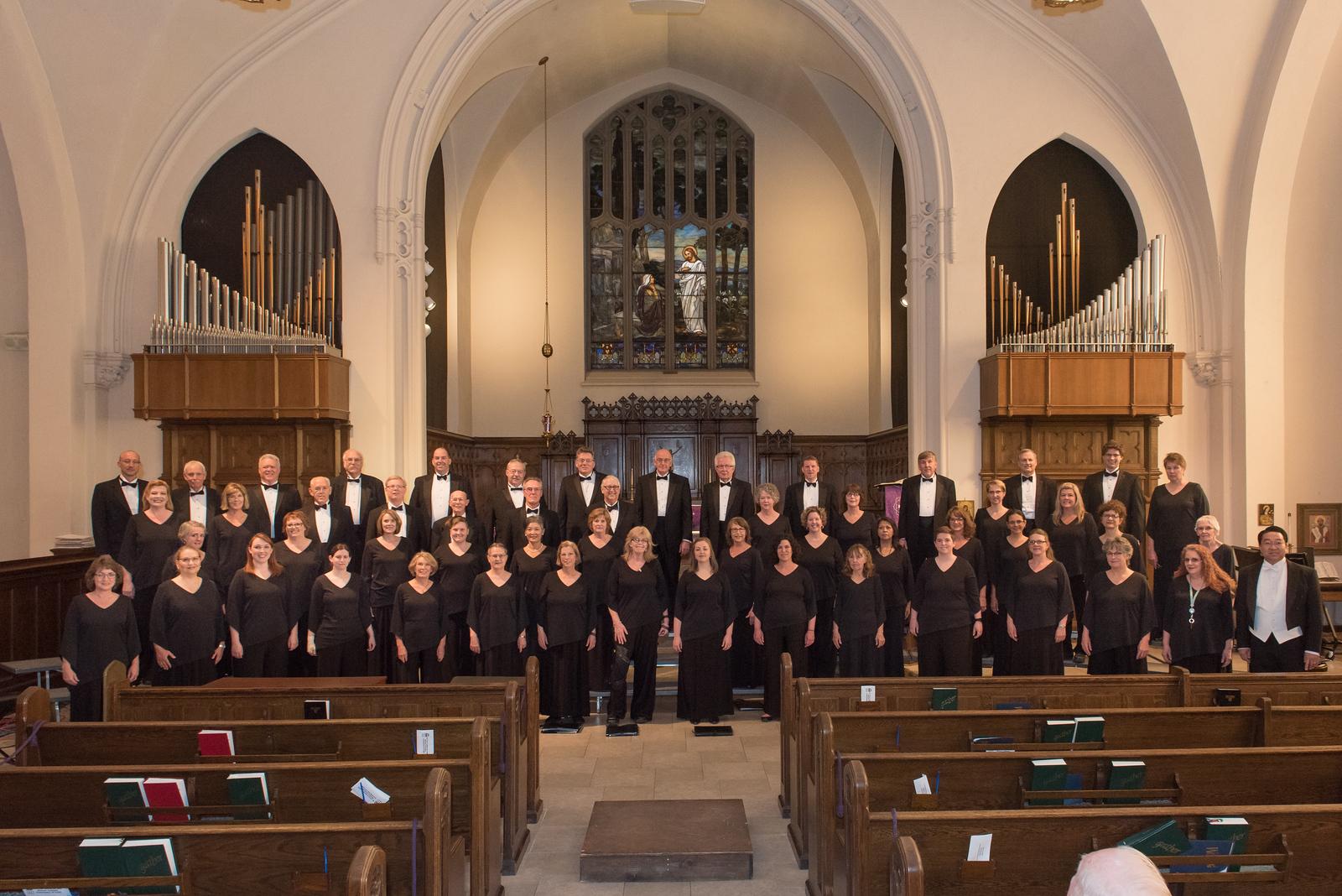 Choir with Director