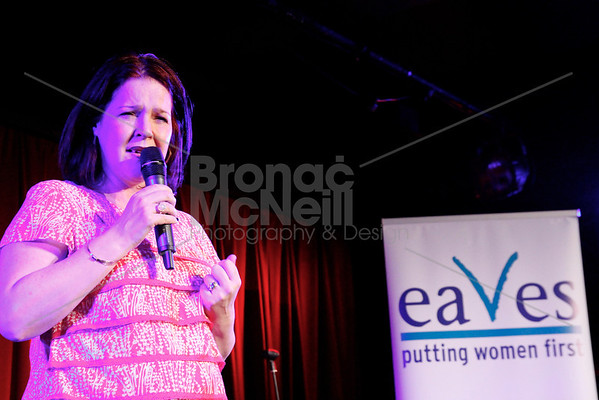 Denise, Eaves Stand up for women, Soho Theatre, London. 5Nov2012 ©BronacMcNeill