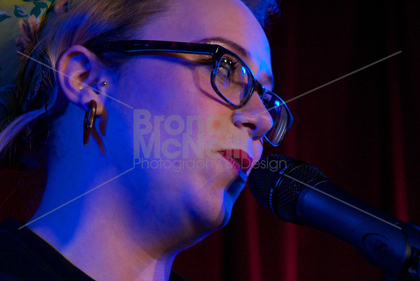 Carly Smallman, Eaves Stand up for women, Soho Theatre, London. 5Nov2012 ©BronacMcNeill