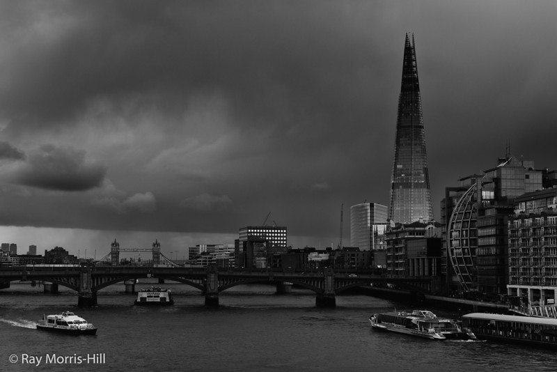 Storm Showers on the Shard