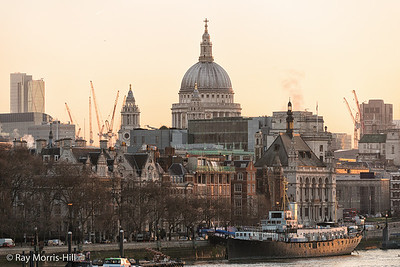 St Paul's Cathedral from Waterloo Bridge