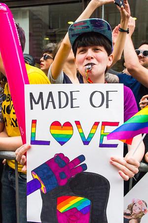 2. Made of Love, Pride in London, 25 June 2016