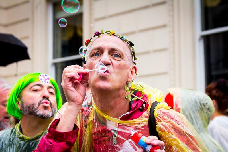 10. Bubbles, Pall Mall, Pride in London, 28June 2014