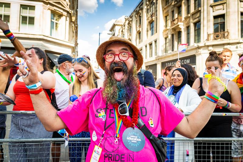 15. Pride Steward, Pride In London, 8July2018