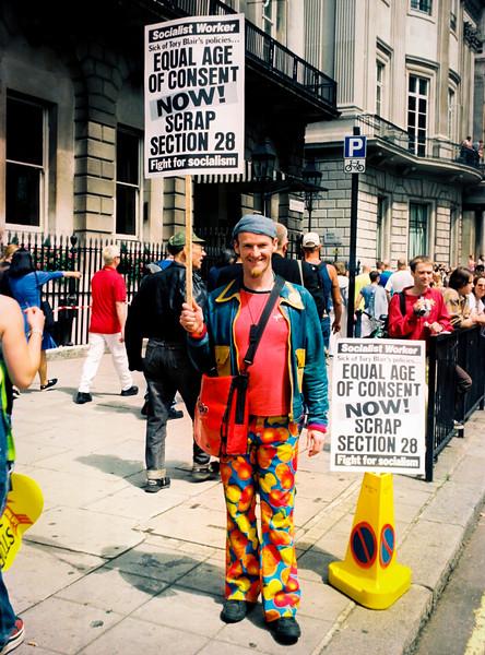 11. Scrap Section 28, Pride, London, June1999