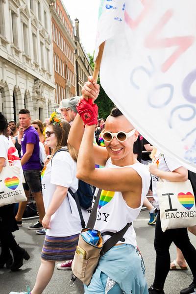 8. Love Hackney, Pride in London, 8 July 2017