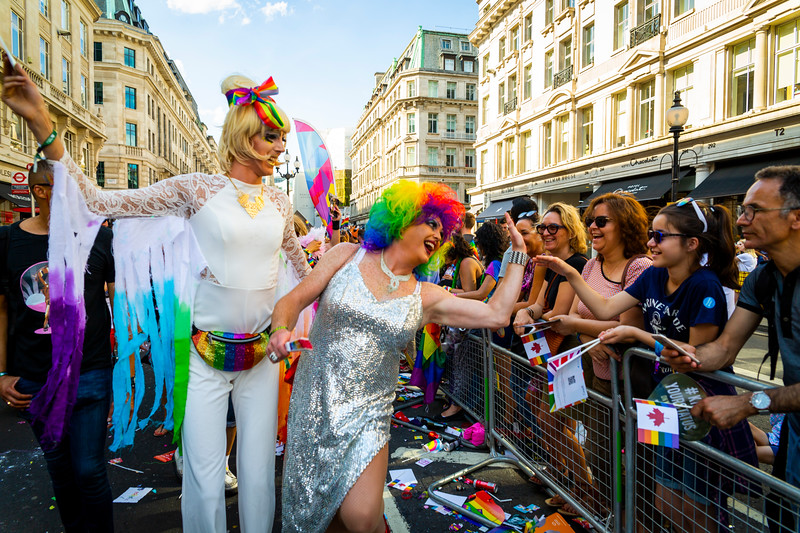9. Cancer is a Drag Queens, Regent's Street, Pride in London8 July 2018