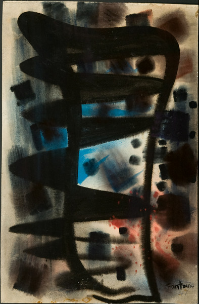Untitled, 1947. Watercolor,  20 1/8 x 13 1/4 ( no. 24) 32f