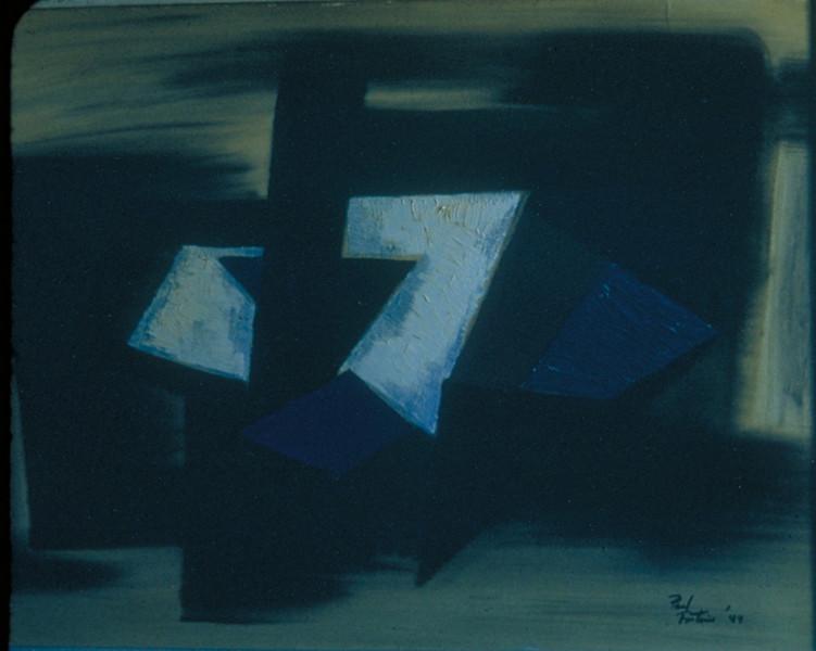 """""""    """", oil on board, 1948"""