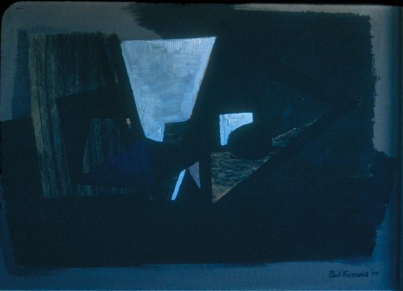 """""""   """", oil on board, 1949"""
