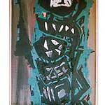 """Jacobs Ladder"", oil on board, 76 x 102 cm, 1951"
