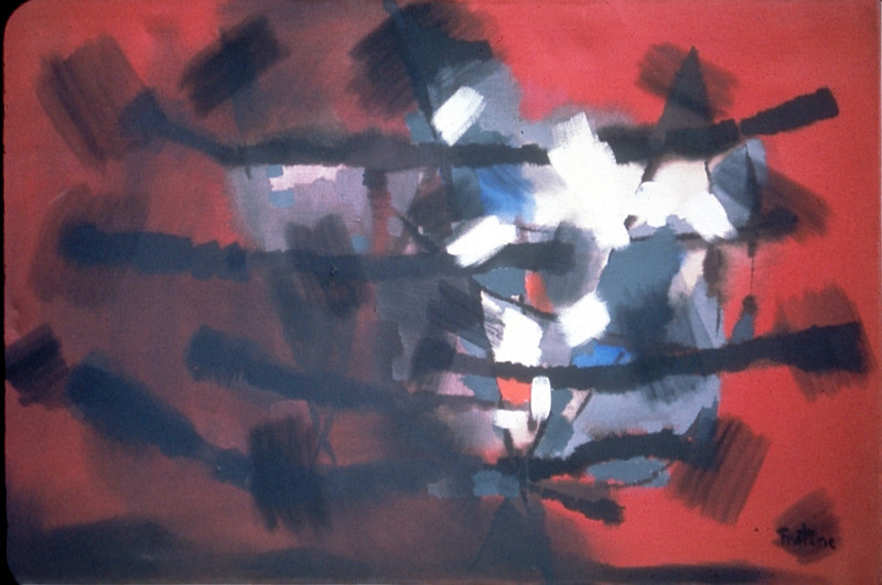 acrylic on canvas, 1960