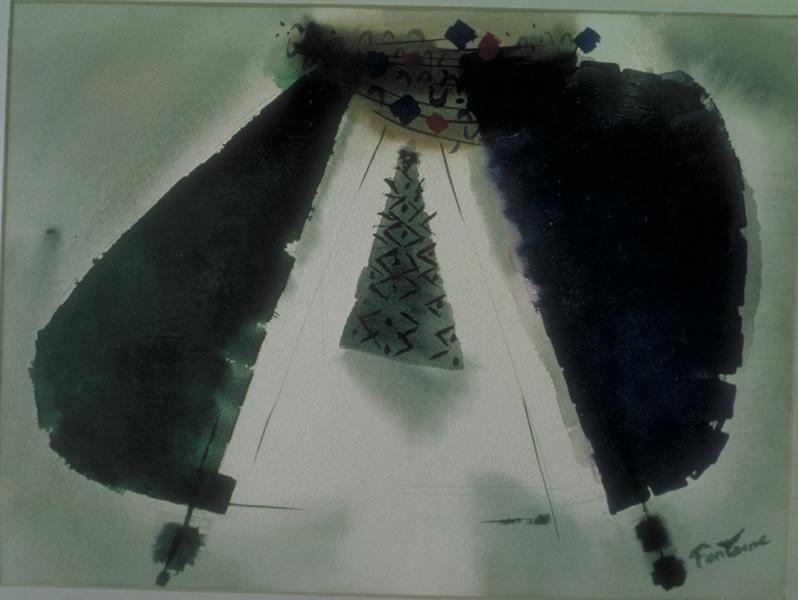 watercolor, 1968