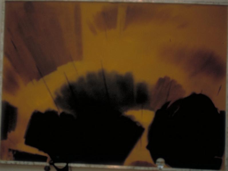 acrylic on canvas, 1968?